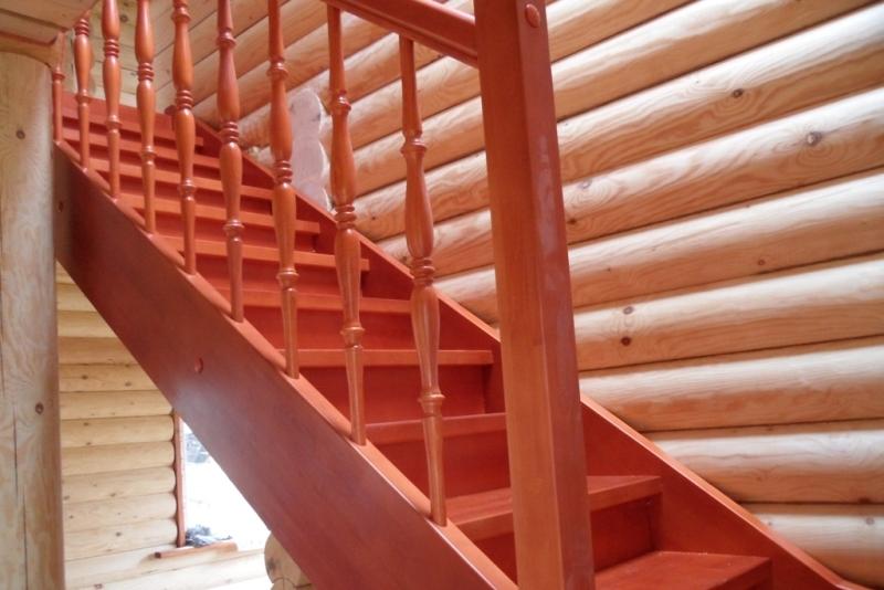 Деревянная лестница на тетивах своими руками